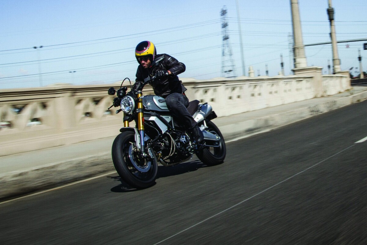 The Ducati Scrambler 1100 Special is one of three versions available