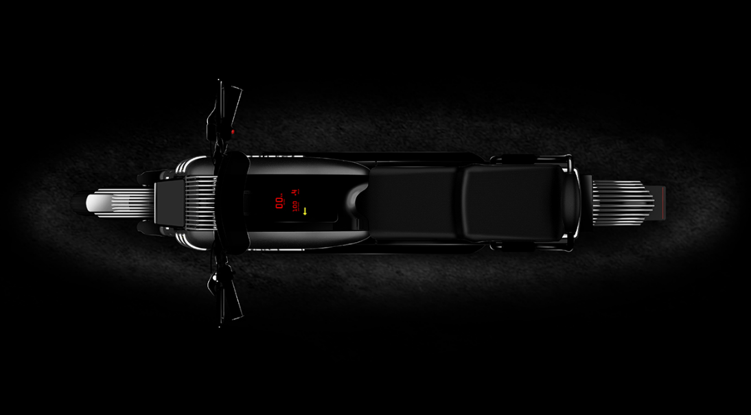 The Blacksmith B2 features digital gauges on the tank