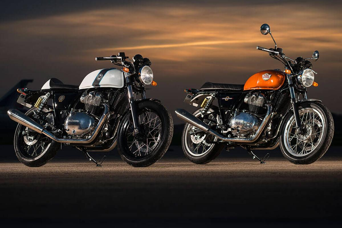 Royal Enfield's new twin will be fitted to theContinental GT 650 andInterceptor INT 650