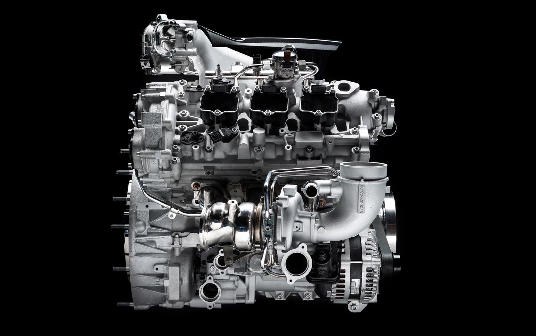 The Maserati Nettuno engine boasts twin side-mounted turbos
