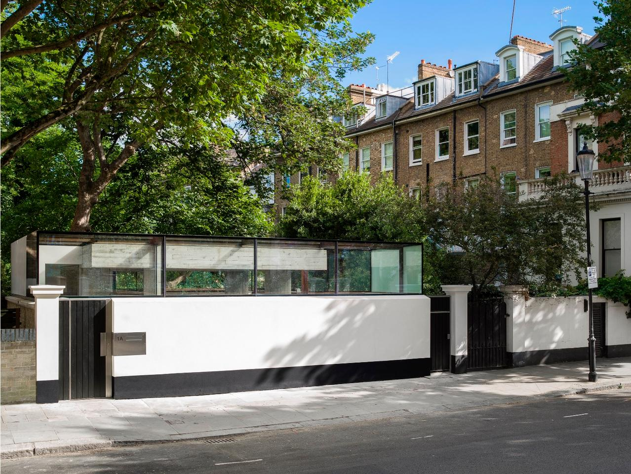 1A Earl's Court Square was designed bySophie Hicks Architects