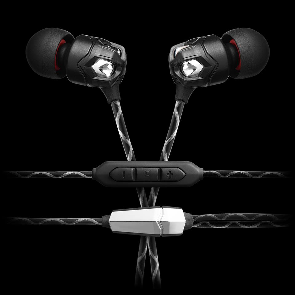 The Zn in-ear headphones are available with a three-button inline remote for iOS devices or a one-button version for Android users