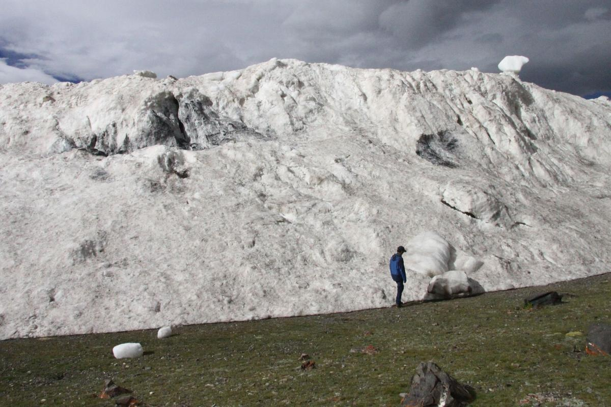 Part of the reason scientists were concerned about this huge avalanche was because it was soon followed by another