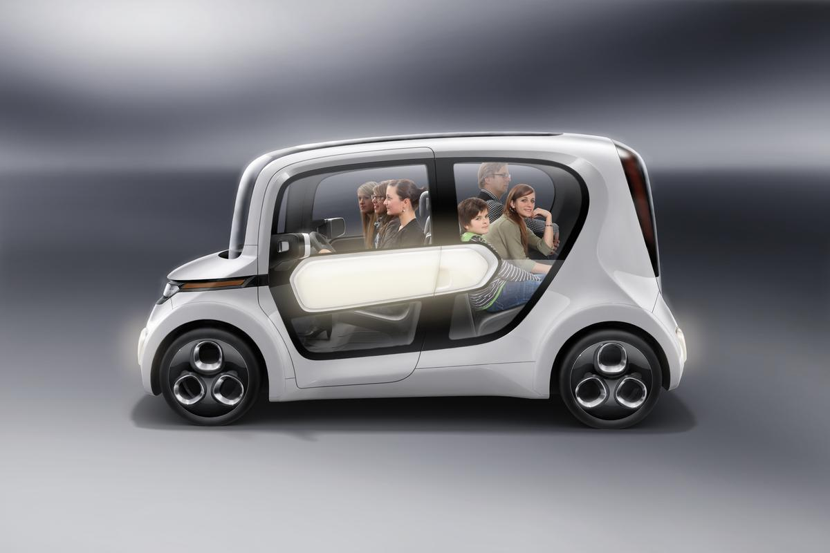 EDAG has extended its Light Car electric concept range with the addition of the Light Car - Sharing hire fleet concept, unveiled at this year's International Geneva Motor Show