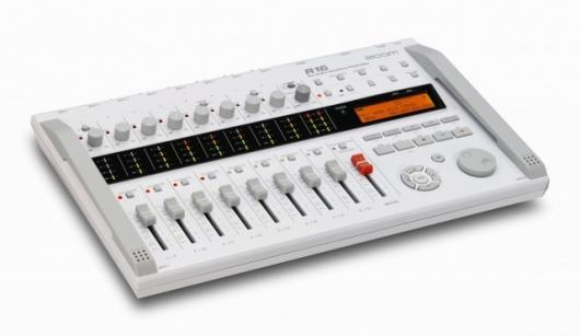 The Zoom R16 - recorder, interface and controller all rolled into one neat portable package.