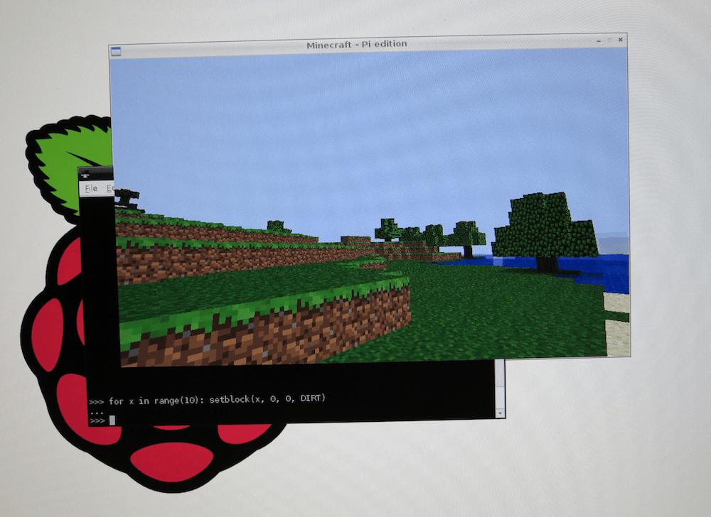 In development: Minecraft: Pi Edition