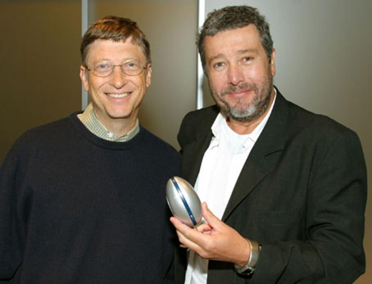 Bill Gates & Philippe Starck