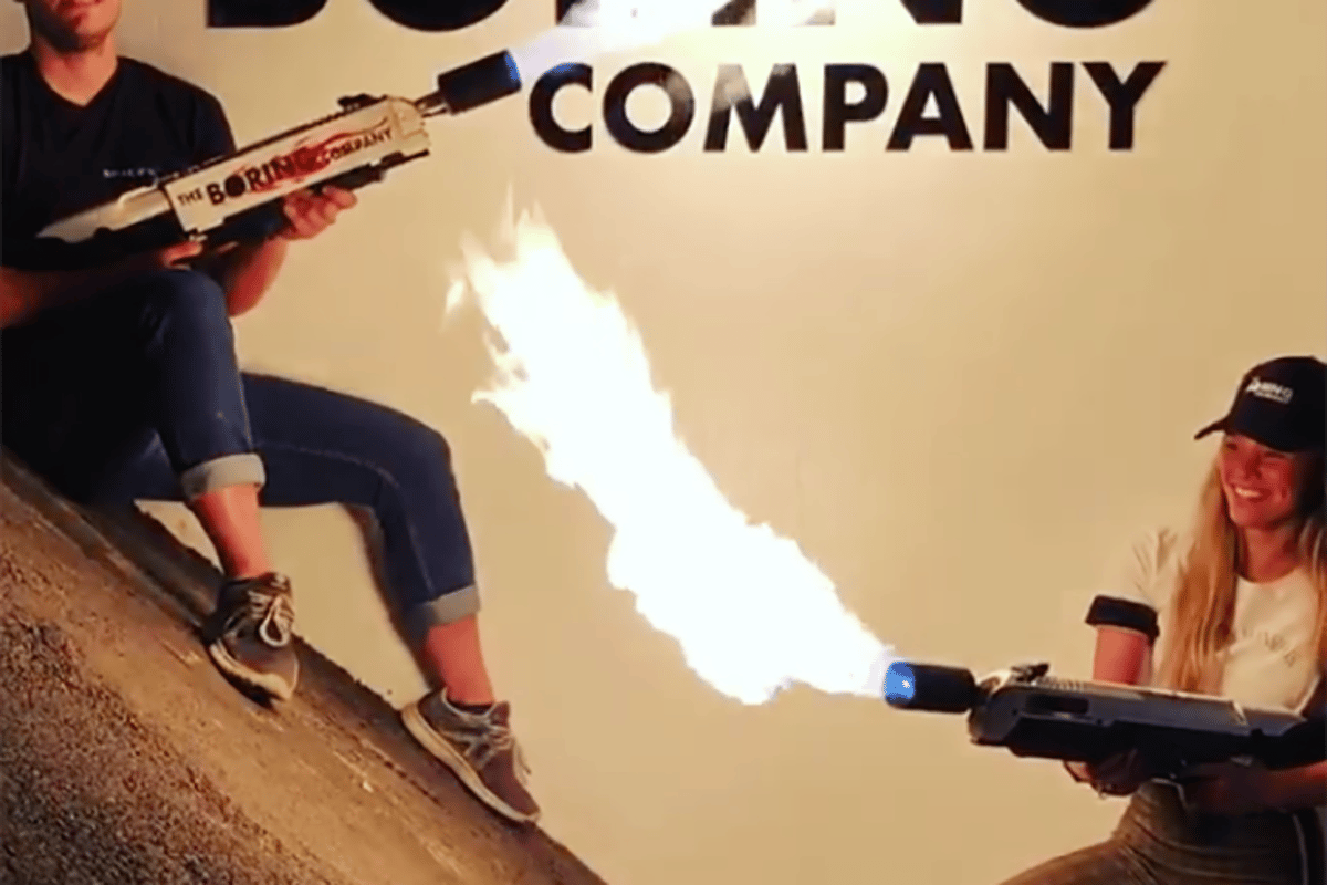 The Boring Company says shipping will kick off in the spring (northern hemisphere) for its flamethrower