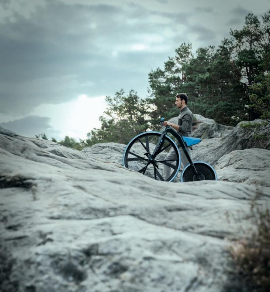 We doubt you'd want to ride the Concept 1865 here, but it makes a nice photo