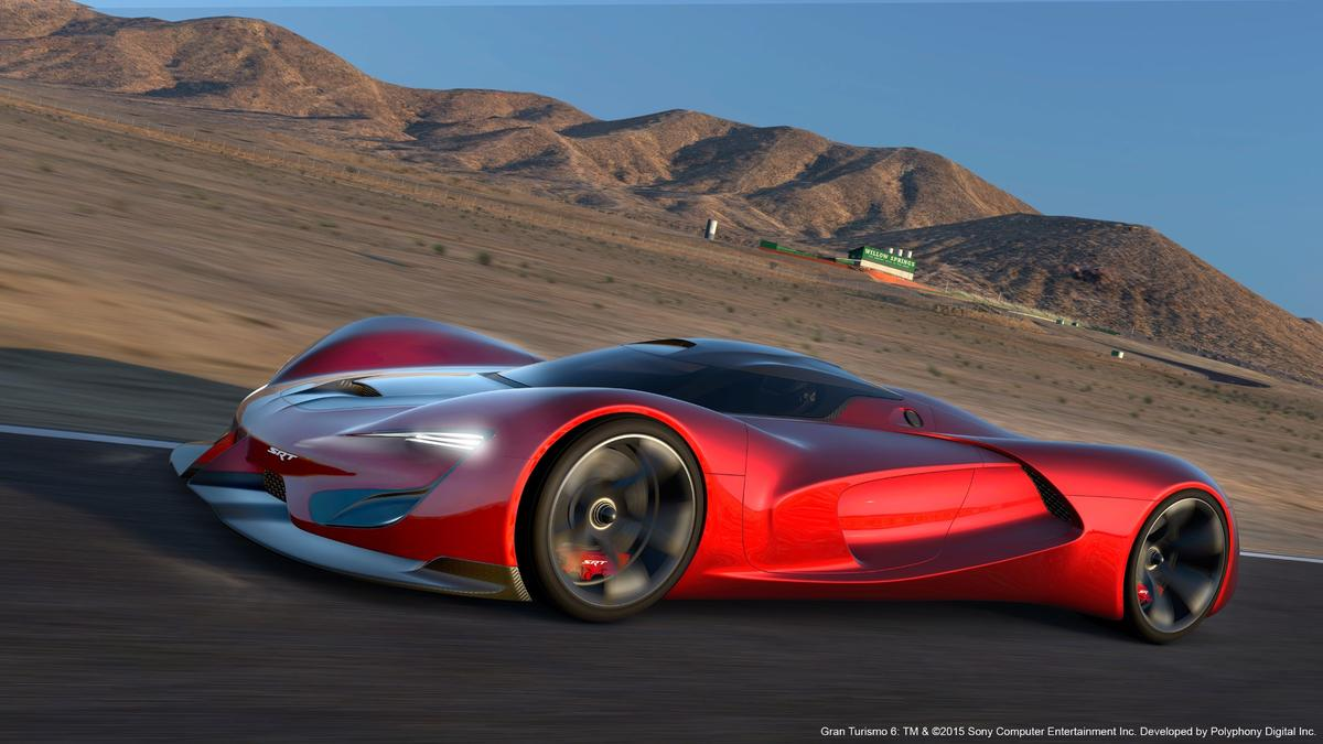 FCA held an internal design competition to find its Vision Gran Turismo