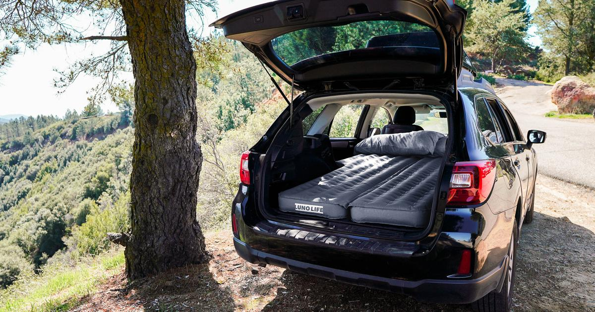 No RV? Luno Life inflatable pad turns everyday cars into camper wagons