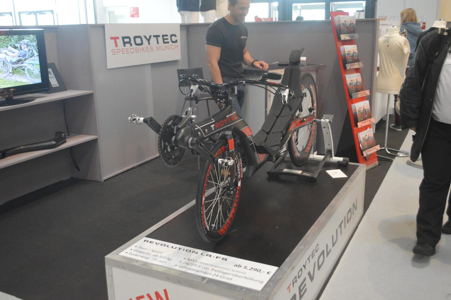 TroyTec at ISPO Munich 2014