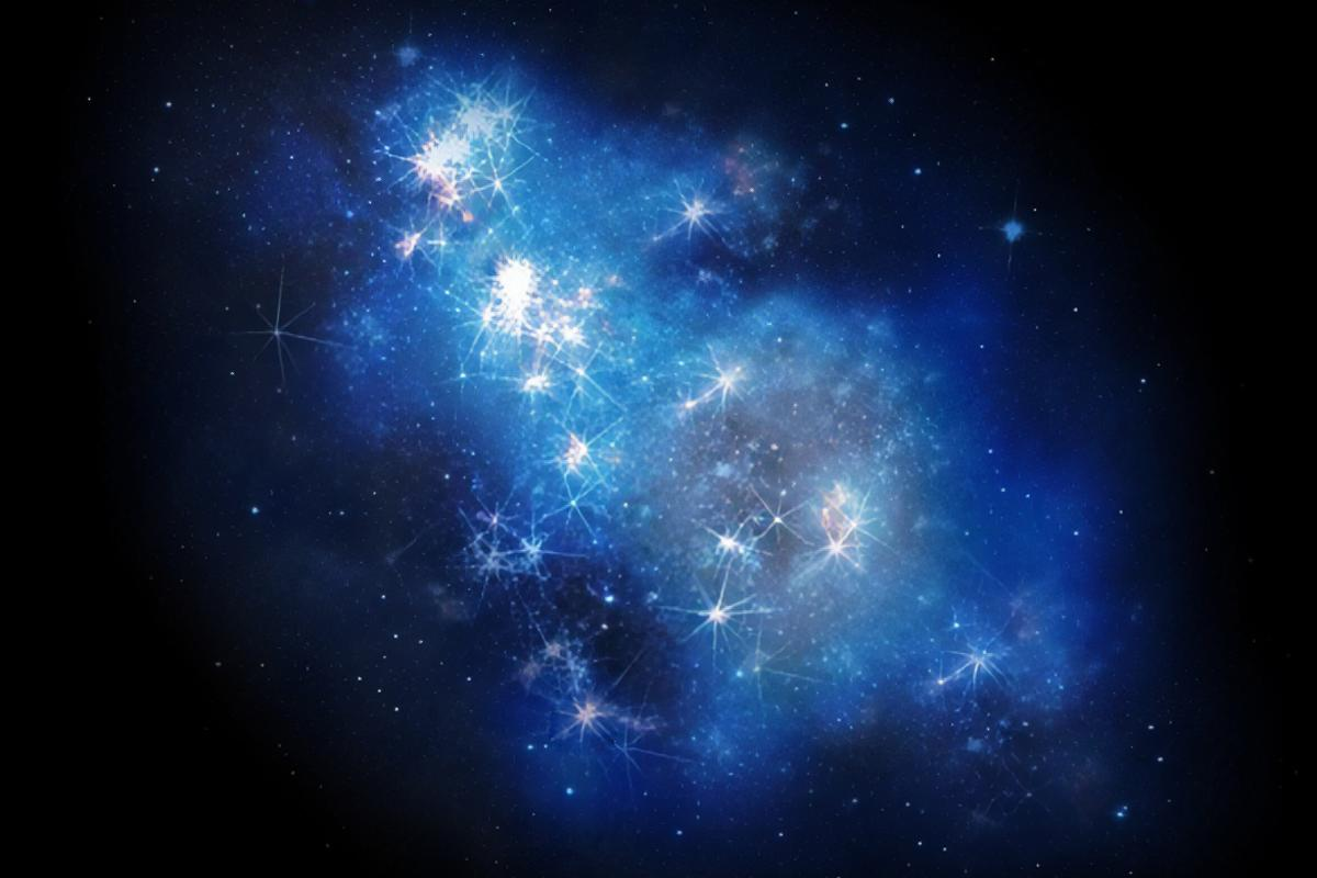 An artist's impression of GN-z11, the most distant known galaxy