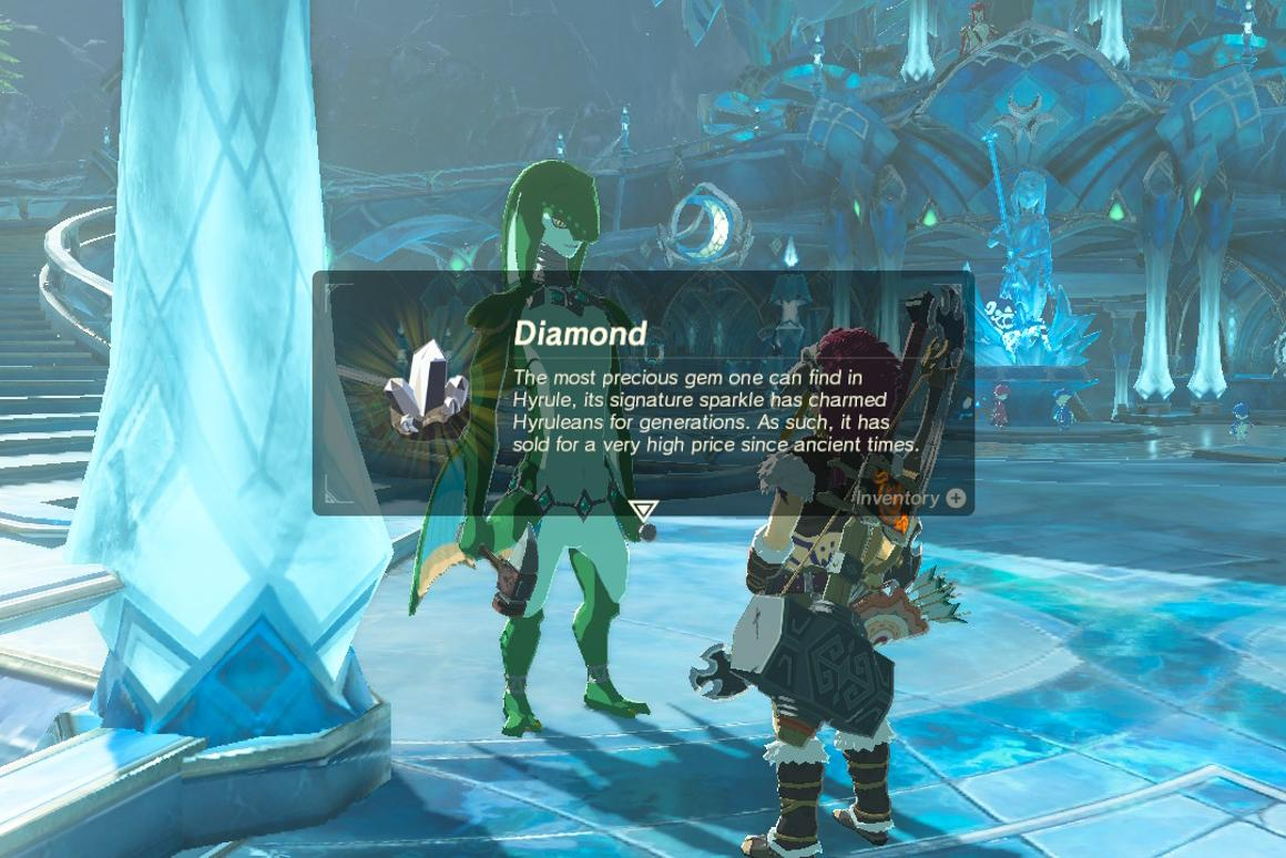 How to get diamonds in Breath of the Wild