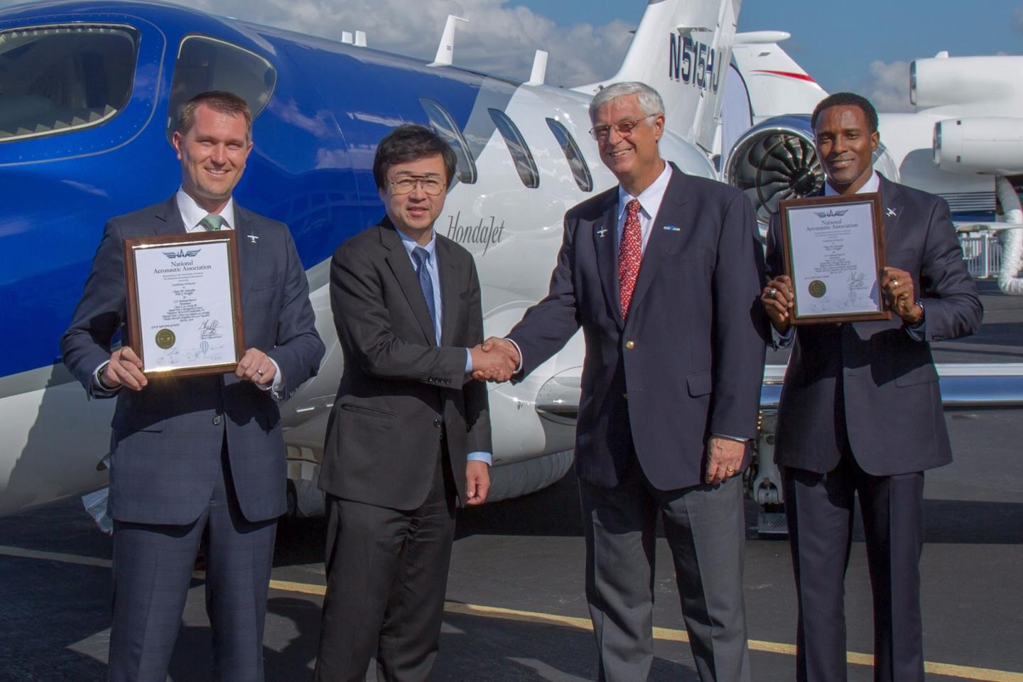 Honda claims that the HondaJet is theworld's most advanced light jet, by virtue of features like over-the-wing engines and lightweight composite fuselage