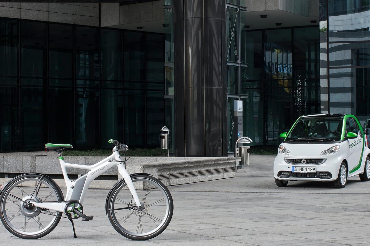 Smart's new electric range