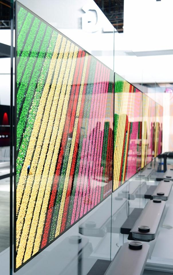 LG's OLEDlineup boasts an expanded color gamut