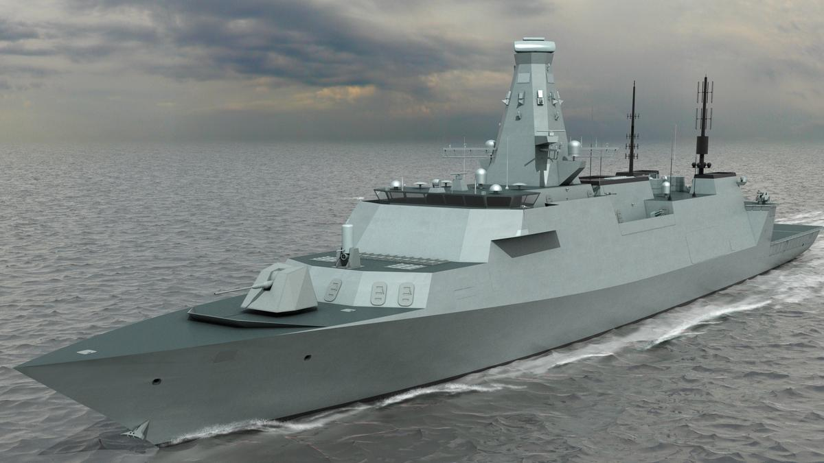 The Type 26 Global Combat Ship (T26 GCS) that is due to enter service with the Royal Navy after 2020 (Image: BAE Systems)
