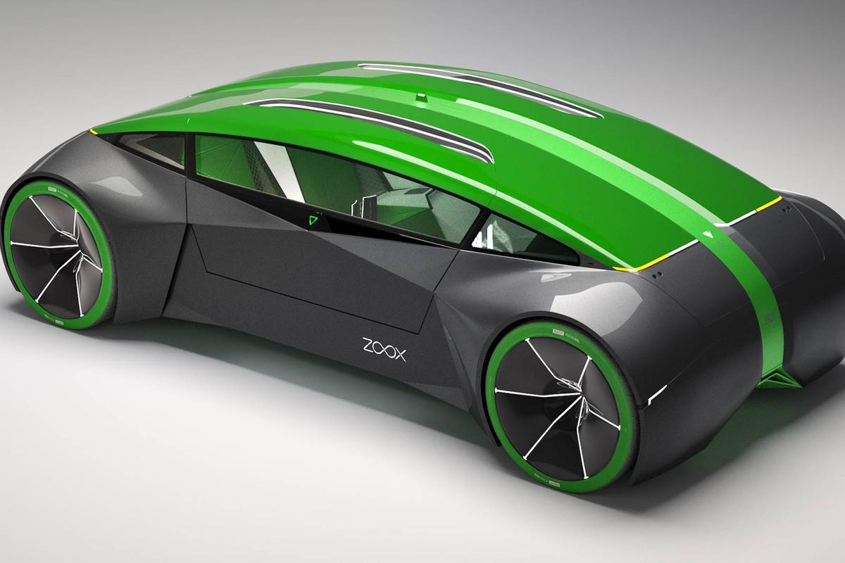 The Boz design is driven by four electric motors mounted at the wheels
