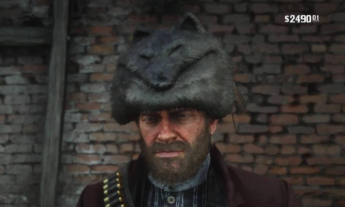 You can make a prettystylish hat out of the Legendary Coyote pelt