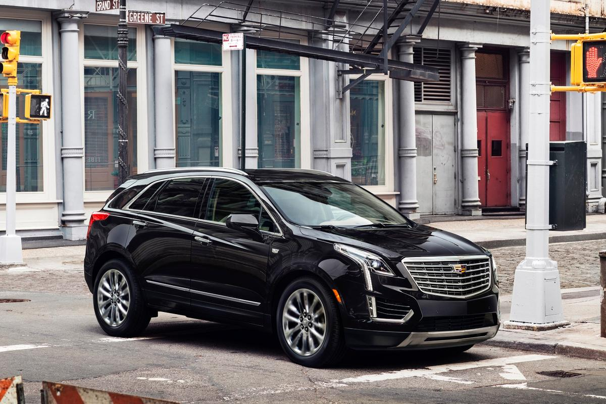 Cadillac will be selling the XT5 with a big V6 in the USA, while Chinese buyers will get a four-cylinder version