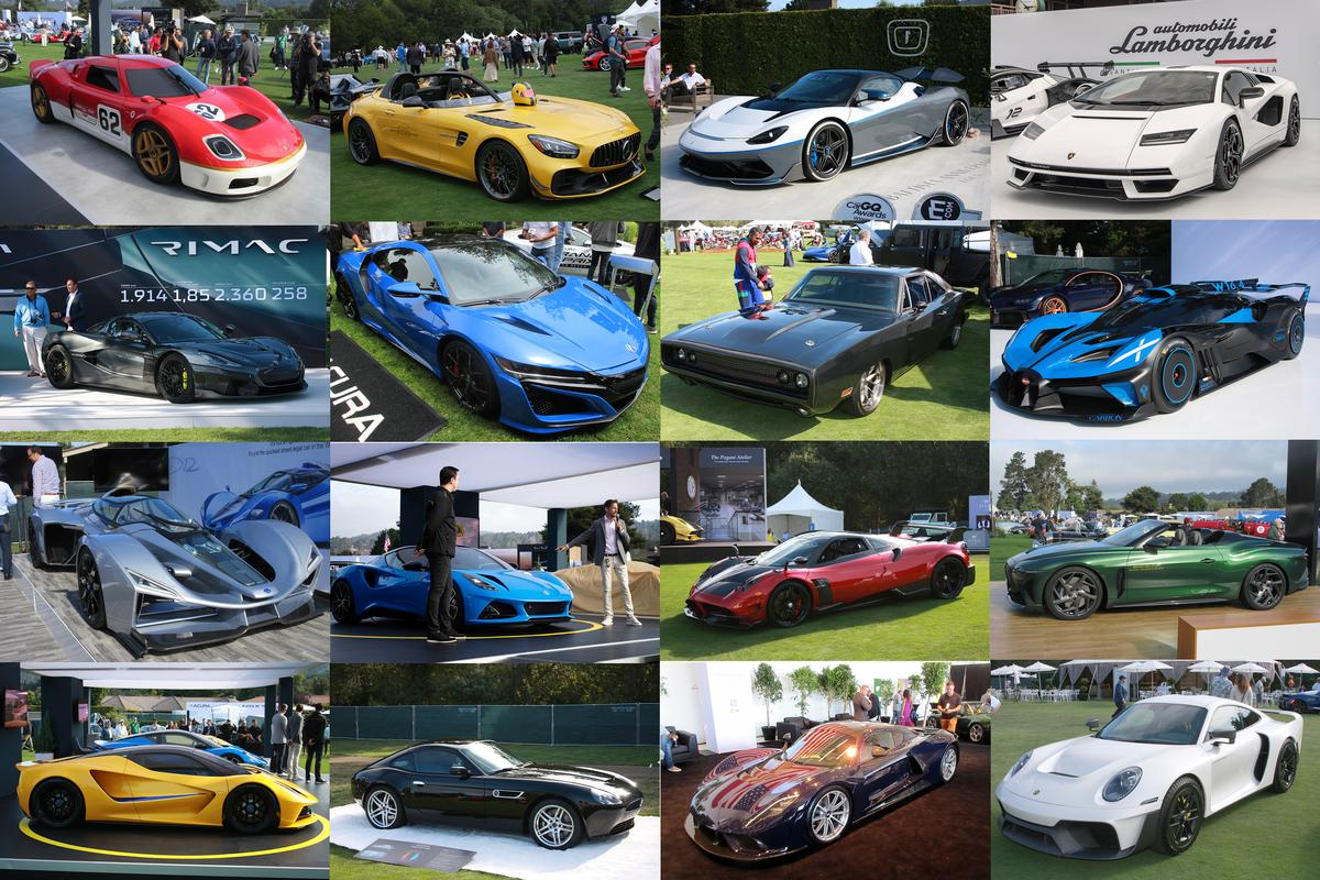 """The one thing that separates the Quail from other """"car shows"""" is that almost the entire audience can afford to buy what is on display."""