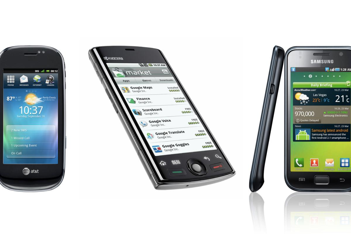 2010 is proving a bumper year for Android handset releases