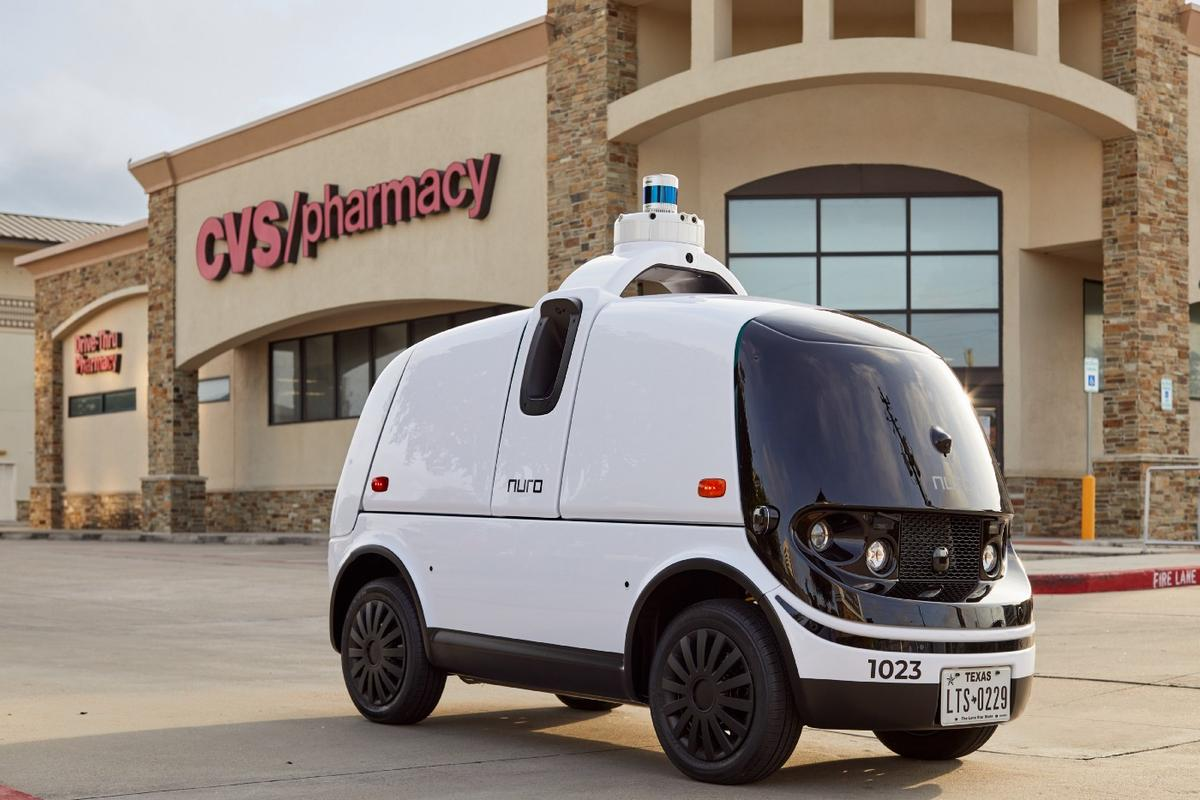 Nuro's autonomous deliveries of CVS prescriptions will be free, as part of a new pilot in Texas