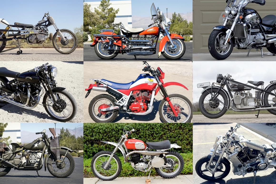 Some bikes that would have been expected to sell for big numbers didn't. A lot of motorcycles sold for less than expected.