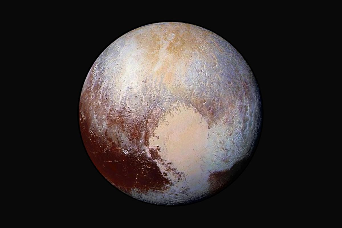 Discovered in 1930, we always knew Pluto to be a cold and distant world