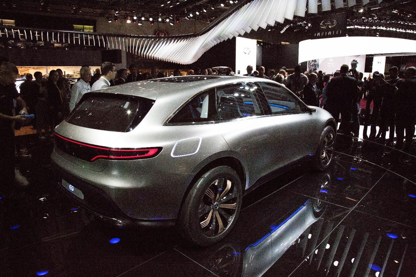 The Generation EQ launched at the Paris Motor Show