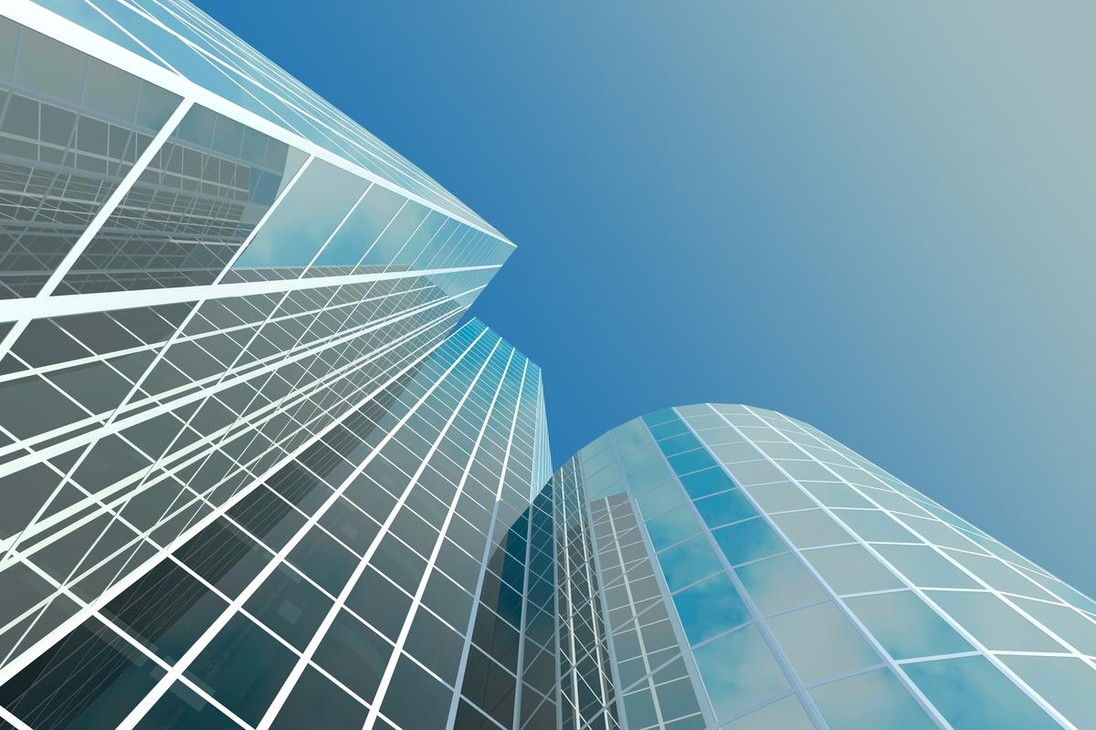 The first application of the semi-transparent solar cell technology will likely be multi-story buildings