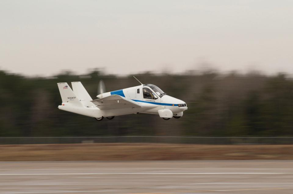 Terrafugia's Transition prototype in flight