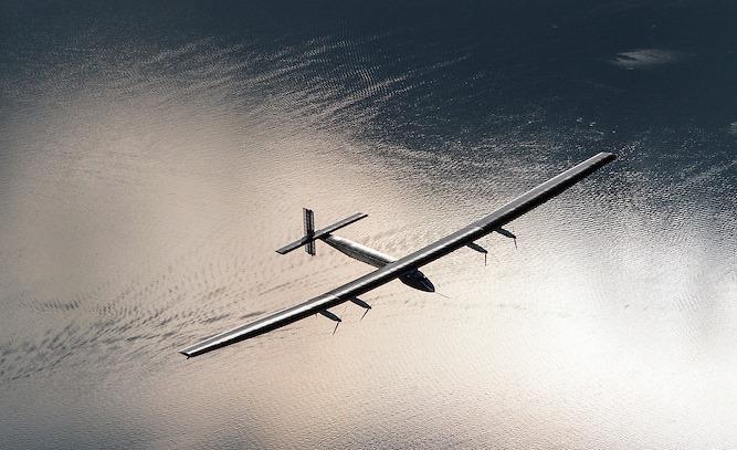The Solar Impulse 2 has broken three aviation records during its flight from Japan to Hawaii