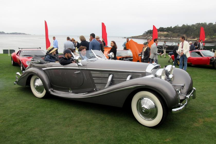 From the Keller Collection comes this 1936 Mercedes-Benz 540K Erdmann and Rossi Special Cabriolet which won the Mercedes-Benz Prewar class in Pebble Beach, and was one of the four cars from which the Best of Show was chosen in 2019