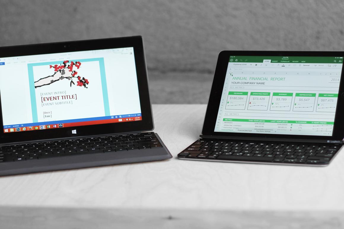 Gizmag goes hands-on to compare the Microsoft Surface 2 and Surface Pro 2 with the Apple iPad Air and iPad mini with Retina Display