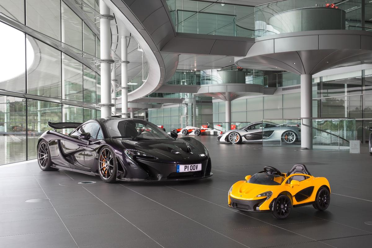 Big McLaren P1, meet little McLaren P1