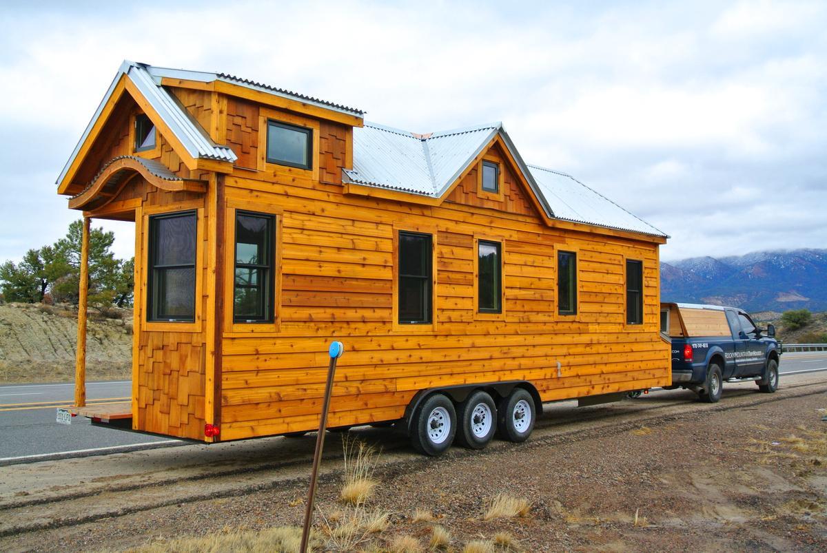 The Custom 30 Foot Tiny House (Photo: Rocky Mountain Tiny Houses)