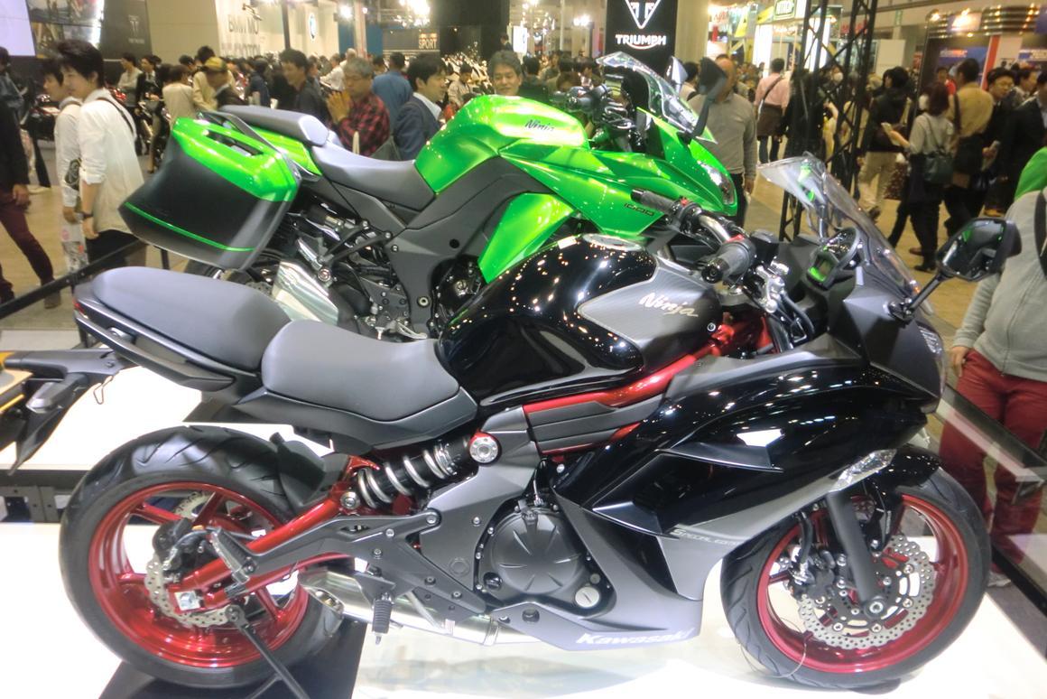 The Kawasaki 650 Ninja and the Ninja