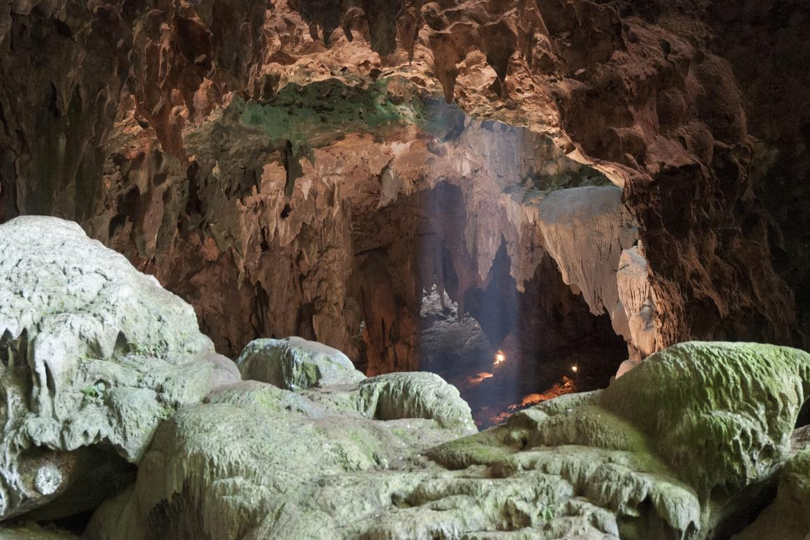 The bones of Homo luzonensis were discovered in Callao Cave, on the island of Luzon in the Philippines