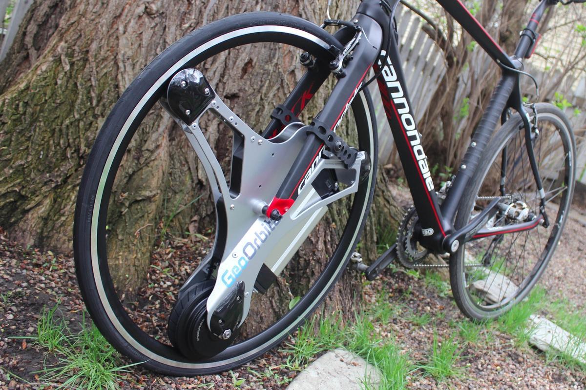 The GeoOrbital Wheel turns your existing bike into an e-bike