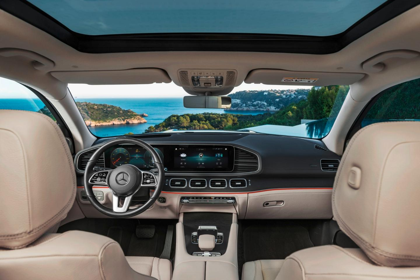 The GLS interior: a bit nice