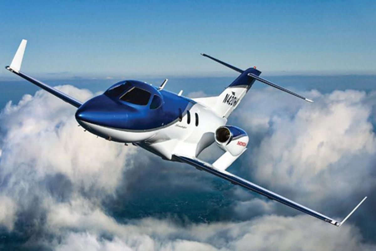 The HF120 is designed to power the HondaJet executive jet