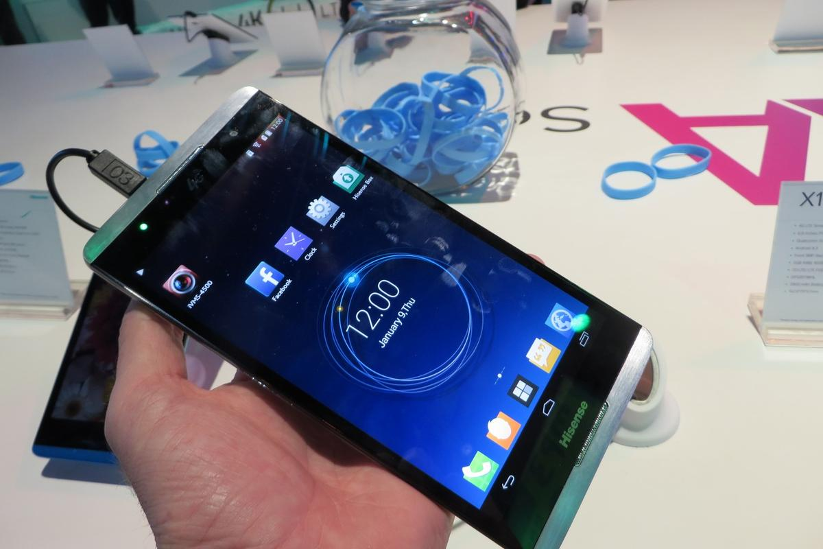 The HiSense X1 is a handful with its 6.8 inch display