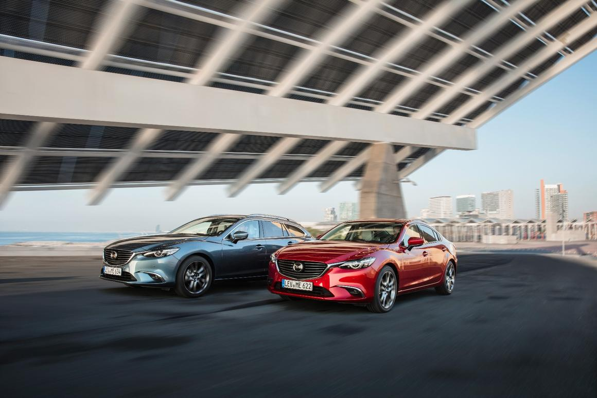 Mazda hasn't messed with the outside, but there are some changesunder the skin ofthe new 6