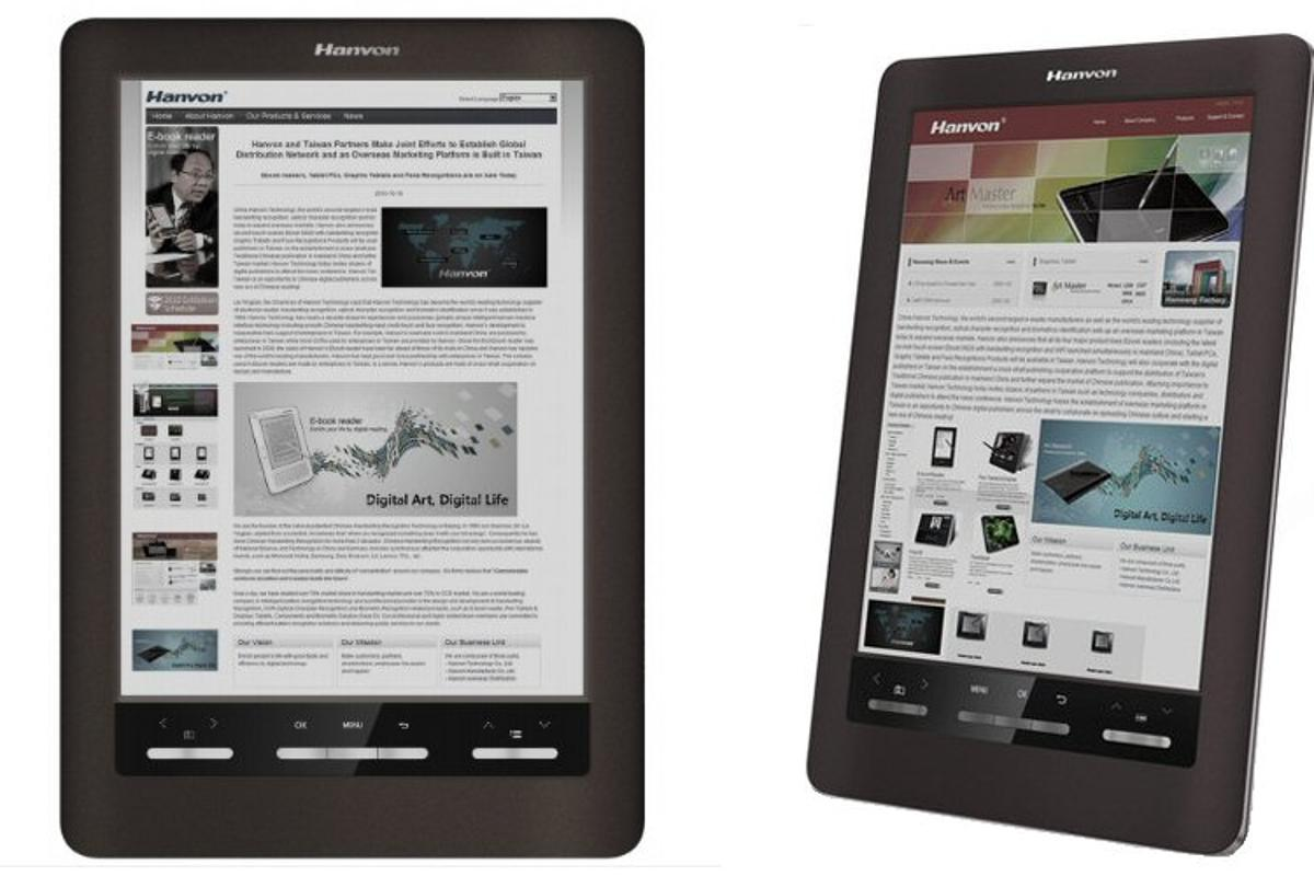 Hanvon has unveiled a 9.68-inch color e-Ink reader which will be available in China from March next year