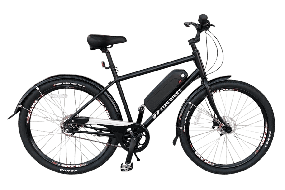 "Capable of handling riders up to 550 lb, the ""A New Leaf 3.0"" is a quality ebike dedicated to getting your big ol' butt moving"
