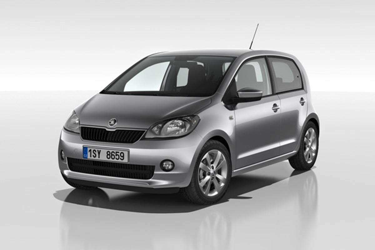 Skoda will debut a five-door version of its Citigo subcompact at the 2012 Geneva Motor Show in March