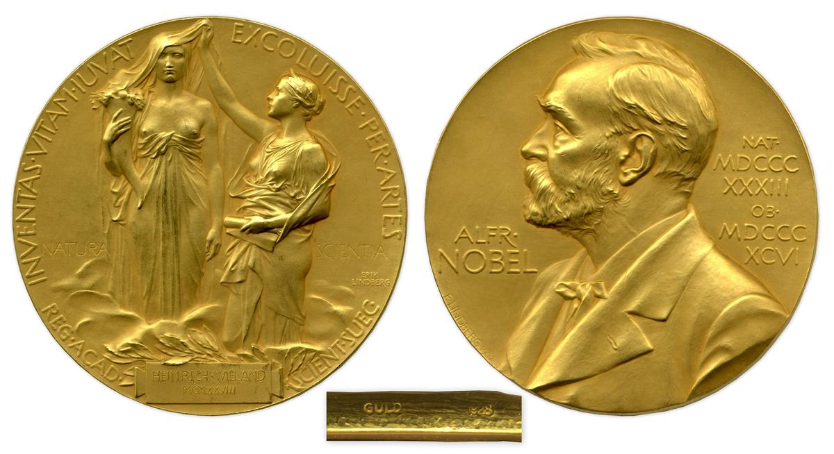 The 1927 Nobel Prize for Chemistry went to German biochemist Dr Heinrich Otto Wieland