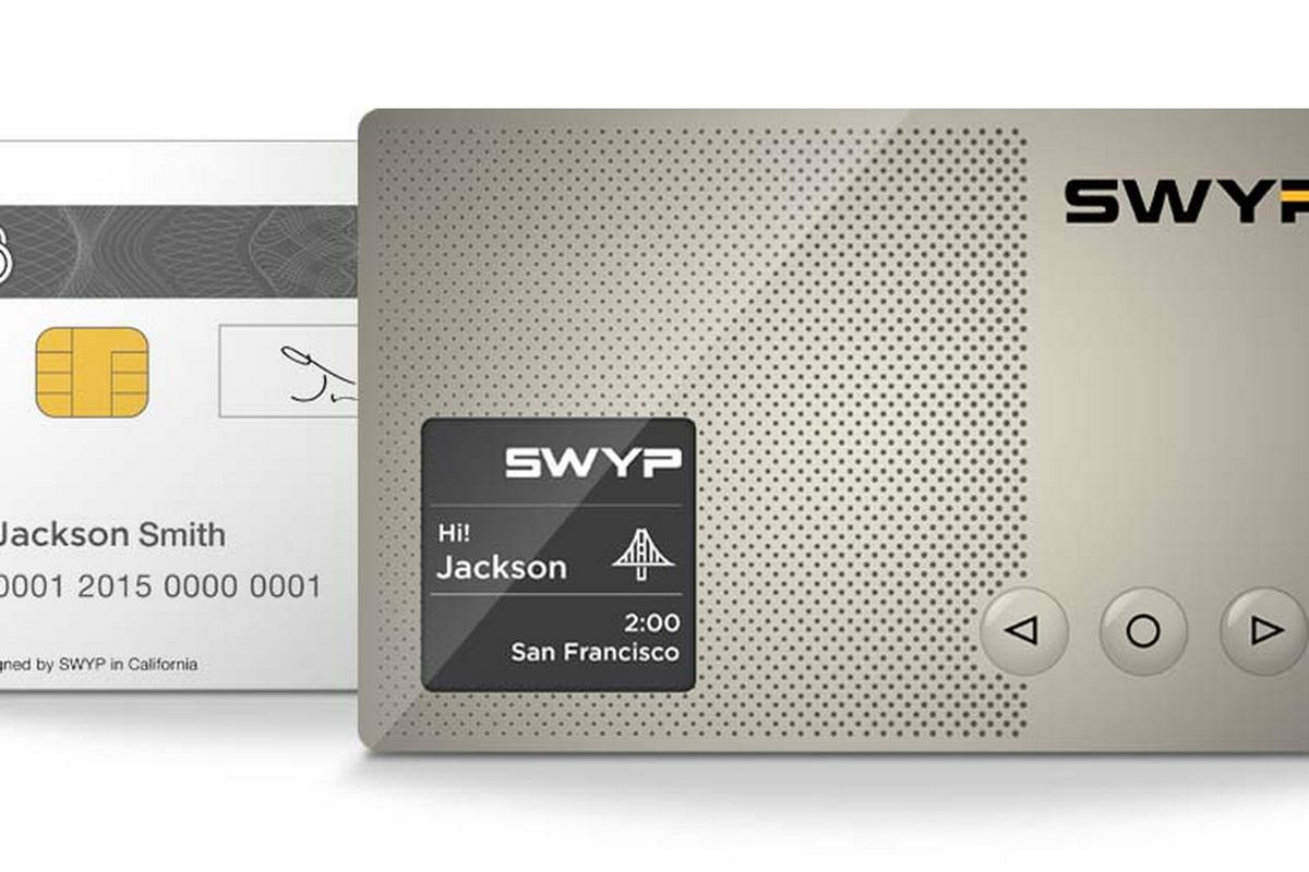 Swyp aims to slim down your wallet by condensing up to 25 cards into one